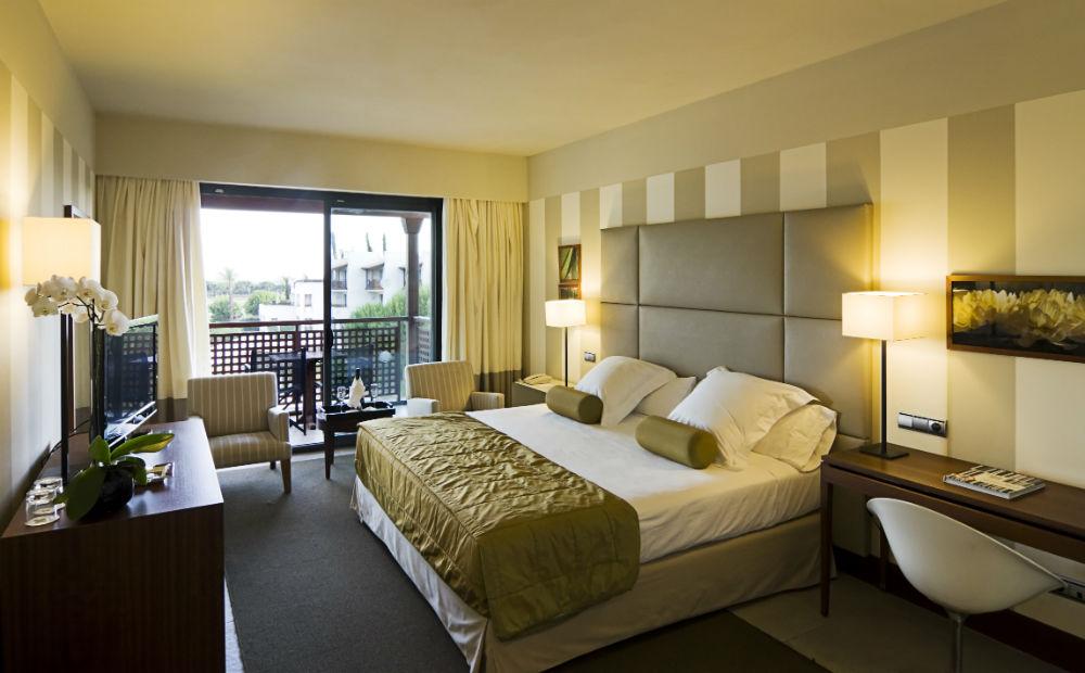 el rompido golf hotel bedroom spain