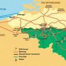 belgium golf map